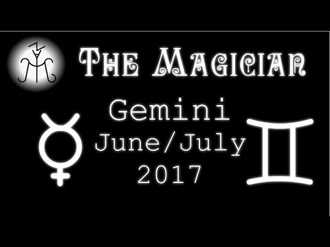 """Gemini July 2017 - """"Abandon Your Thoughts. Stop Pursuing. Listen to your Heart"""""""