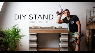 DIY aquarium stand - How I mad…