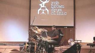 Baixar Rob Brown - Drum Clinic - Using A Metronome To Develop Feel