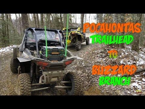 Can Am X3 & Polaris RZR Trail Ride, Hatfield McCoy Trails To Outlaw Trails