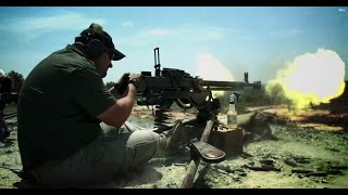 Russian DShK Machine Gun
