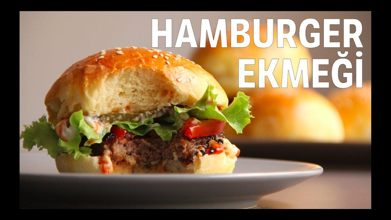 Hamburger Ekmeği Nasıl Yapılır Videosu