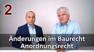 Änderungen im Baurecht 2 - Anordnungsrecht des Auftraggebers   Interview mit Markus Willkomm