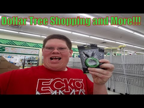 Dollar Tree Shopping And More!!!