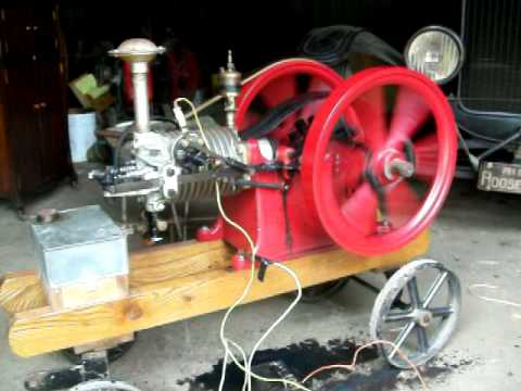 1 3/4hp Associated hit & miss gas engine