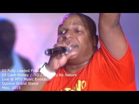 DJ Cash Money / YG  / Naughty by Nature Live in Manila