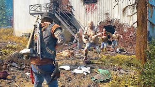 DAYS GONE - Combat & Free Roam Gameplay Demo (2019) PS4
