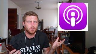 Podcast são uma otima maneira de treinar seu ingles. Vem ver o top ...