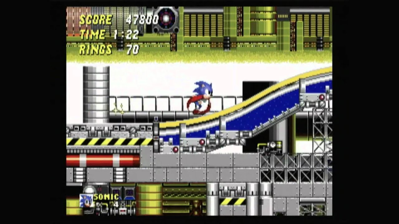 Sonic Classic Game Room