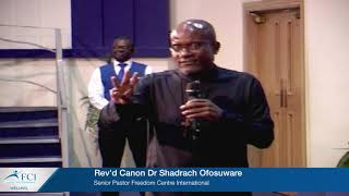REV'D CANON DR SHADRACH OFOSUWARE: WHOLESOME SELF LOVE PT 2 - TRIPARTITE BEING