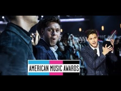 Niall Horan best moments AMAS 2017 / Niall Horan en los AMAS (Behind the scenes)