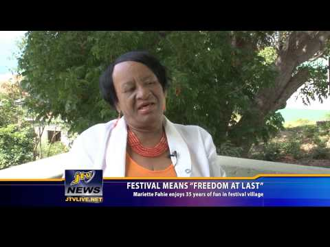 "FESTIVAL MEANS ""FREEDOM AT LAST"""