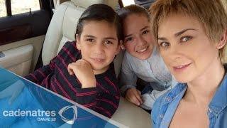 Hijos de Aracely Arámbula no festejaron el día del padre con Luis Miguel thumbnail