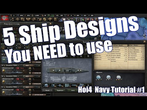 How to Navy: 5 Ship Designs you NEED to use in Hearts of Iron IV