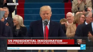 US   Watch Donald Trump's first speech as United States President