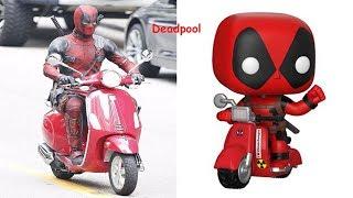 Deadpool 2 As Funko Pop | POP FUNKO VS Movies etc.