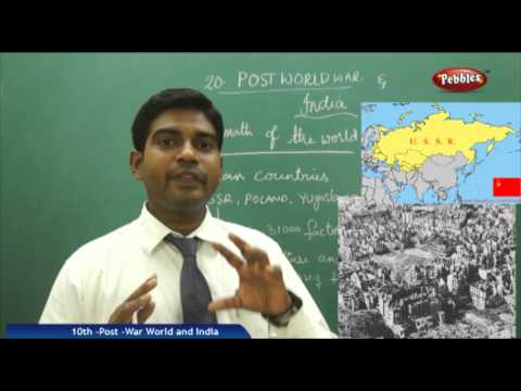 Post War -World and India- Class 10th State Board Syllabus Social Studies