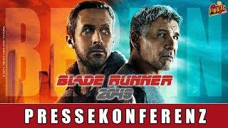 Blade Runner 2049 - Pressekonferenz Berlin | Ryan Gosling | Harrison Ford