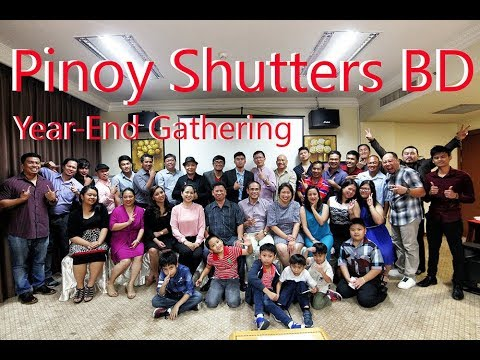 Pinoy Shutters(Brunei Darussalam) Year-End Party
