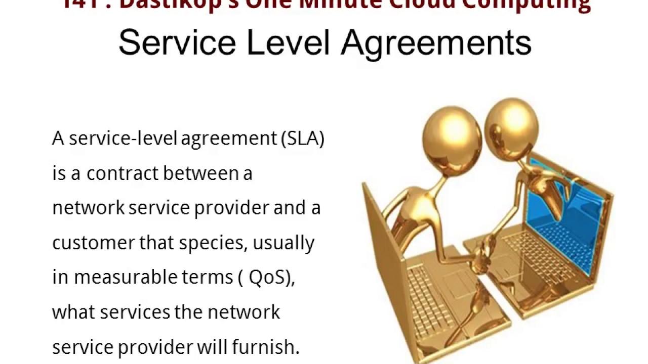 2018 Rvice Level Agreement Sla Meaning Youtube