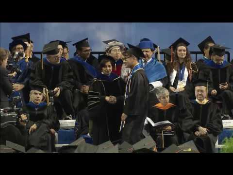Bachelor of Science Degree Conferral: UCLA Engineering (HSSEAS) Commencement 2016