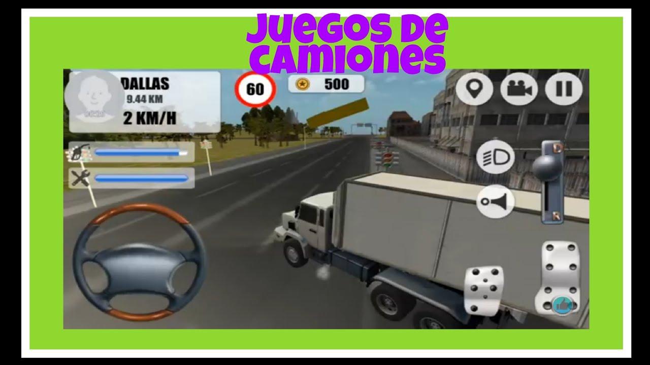 Tracto camin  juegos de camiones  YouTube