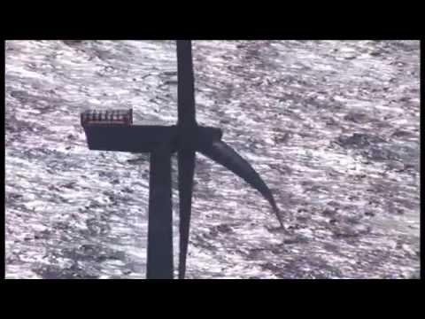 Inbetriebnahme des Offshore-Windparks DanTysk