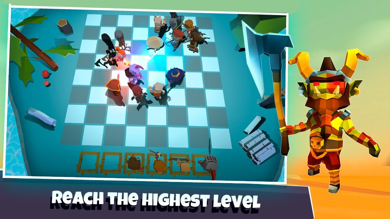 Heroes Auto Chess Android Gameplay