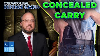 """Concealed Weapons"" in Colorado - When are they illegal?"
