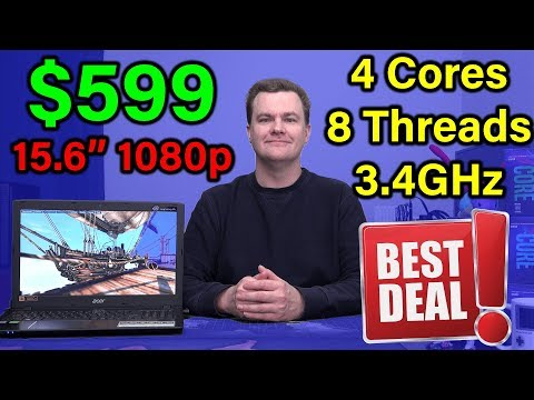 $599 Laptop - Acer Aspire E15 - QUAD CORE! - Review