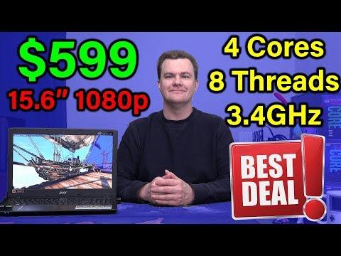 $599 Laptop - Acer Aspire E15 - QUAD CORE! - Review