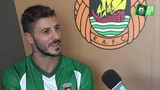 As primeiras declarações de Diogo Figueiras, o novo reforço do Rio Ave FC.