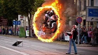 Bike stunt Amazing