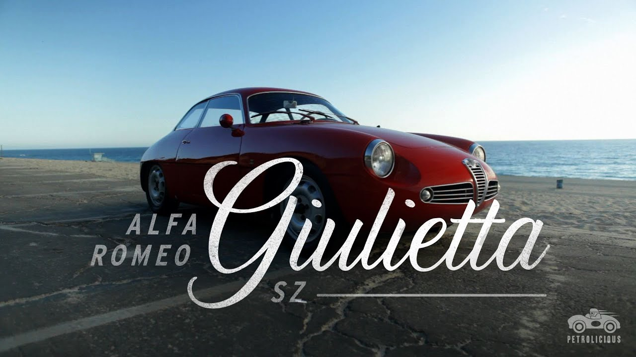 Alfa Romeo Giulietta SZ YouTube - Alfa romeo giulietta 1960 for sale