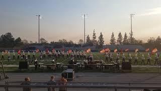 Gilbert high school marching band @Trabuco Hills