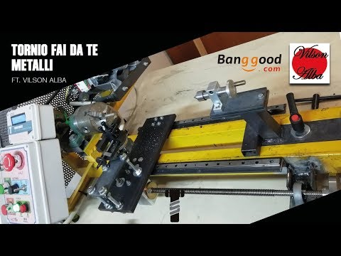 Tornio fai da te metalli - DIY metal lathe