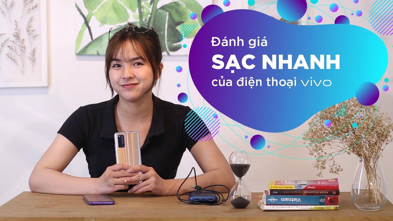 Đánh giá công nghệ sạc nhanh vivo trên điện thoại vivo V19