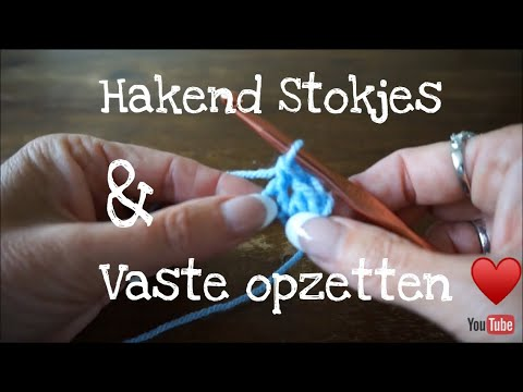 Iedereen Kan Haken Al Hakend Stokjes En Vaste Opzetten Different