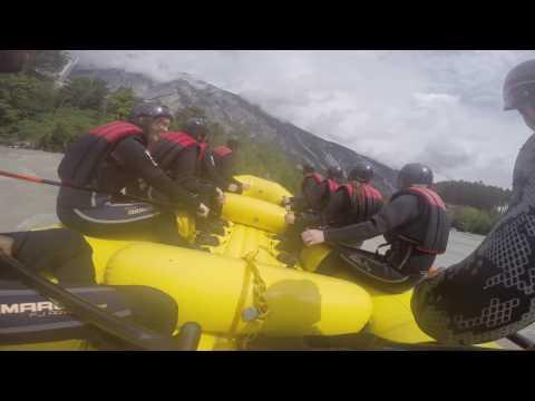 Adventure Sports in Austria - Contiki Europe Summer 2016 trip