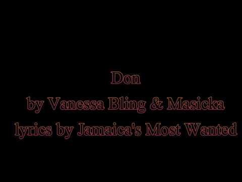Don - Vanessa Bling & Masicka (Lyrics)
