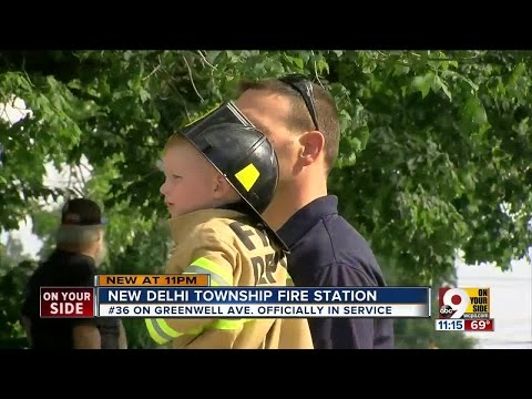 Delhi Township firefighters get first new station in 14 years