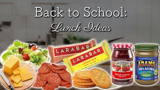 Back to School: Lunch Ideas! Thumbnail
