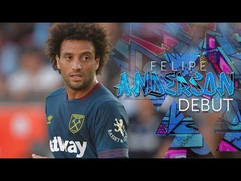 FELIPE ANDERSON'S DEBUT AGAINST ASTON VILLA