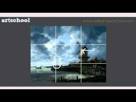 The Rule of Thirds in Landcape Painting by Will Kemp