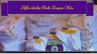 Affordable Cloth Diapers: A Common Sense Approach to Cloth Diapering your Baby