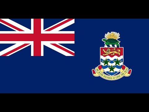 Флаг Каймановых островов.