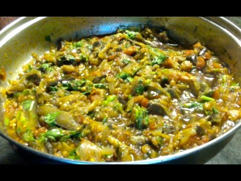 Methi Baingan-Fenugreek Leaves with Eggplant-Vankaya Menthi Kura ...