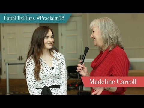 Madeline Carroll  NRB 2018