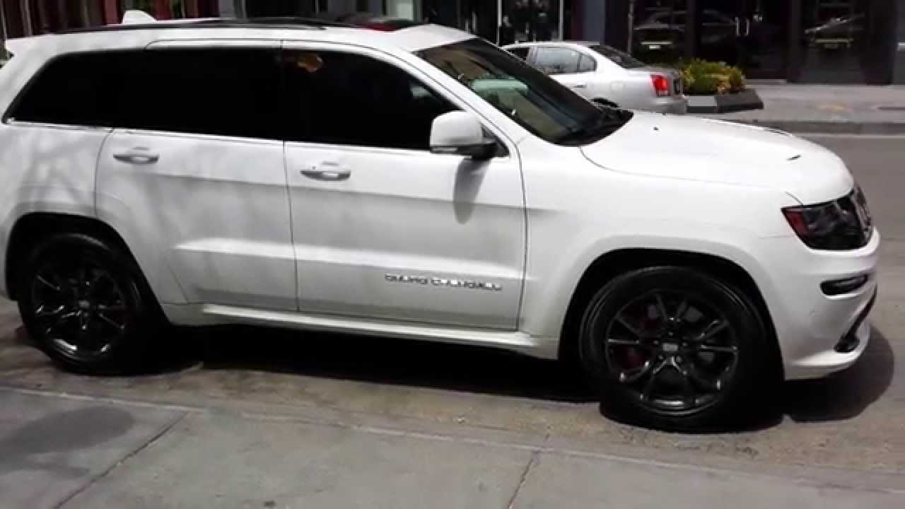 White 2014 Srt8 Jeep Black Package Youtube