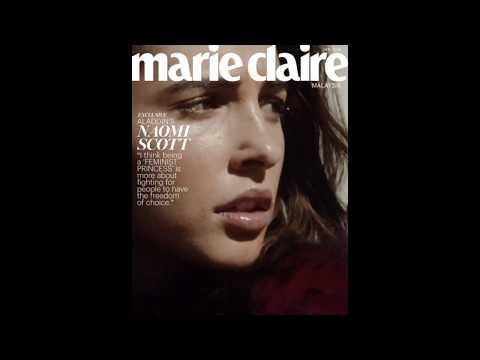 Marie Claire Malaysia Digital Cover: Naomi Scott